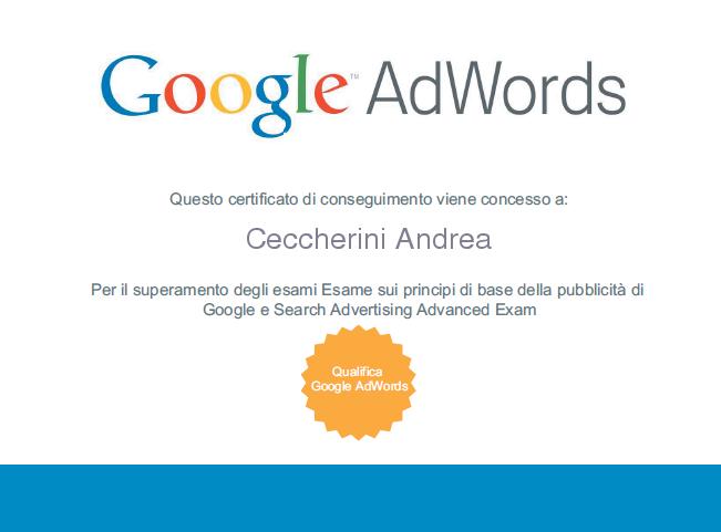 Google Adwords Specialist 2012